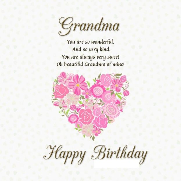 Best Happy Birthday Ecard Wishes For Grandma Happy Birthday Wishes