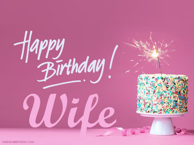 Wife Happy Birthday Wishes Memes SMS Greeting eCard Images – Happy Birthday Greeting for Wife