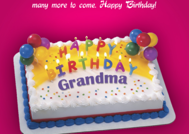 Grandma Birthday Card Sayings - Happy Birthday Wishes, Messages & Greeting eCards