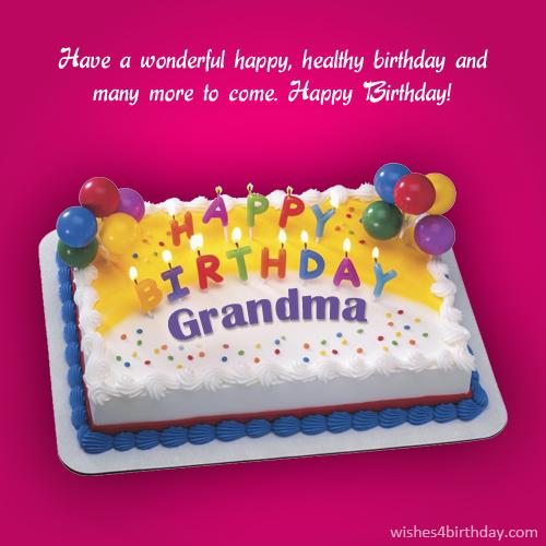 Grandma birthday card sayings happy birthday wishes memes sms download m4hsunfo