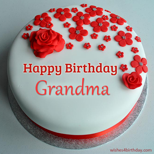 Happy Birthday Ecards With Cake For Grandma - Happy Birthday Wishes, Messages & Greeting eCards