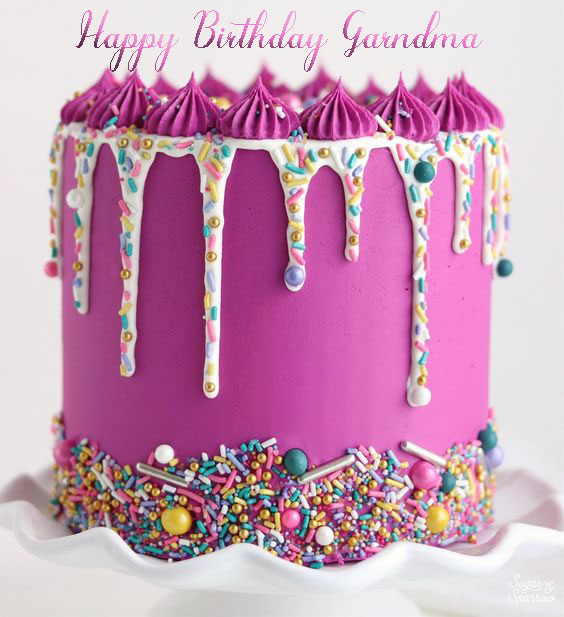 Happy Birthday Cakes For Grandma - Happy Birthday Wishes, Memes, SMS & Greeting eCard Images