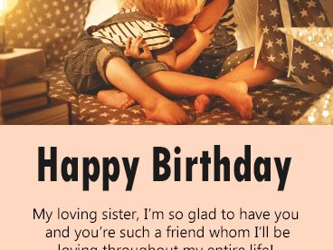 Best Happy Birthday For Sister Images - Happy Birthday Wishes, Memes, SMS & Greeting eCard Images