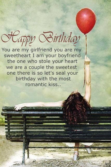 Birthday Message For Girlfriend - Happy Birthday Wishes, Memes, SMS & Greeting eCard Images