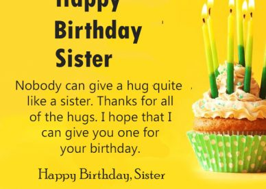 Sister - Happy Birthday Wishes, Memes, SMS & Greeting eCard ...