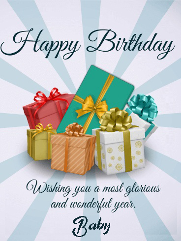 Cute Happy Birthday Baby Quotes - Happy Birthday Wishes, Memes, SMS & Greeting eCard Images