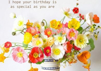 Free Happy Birthday Flower Pics - Happy Birthday Wishes, Memes, SMS & Greeting eCard Images