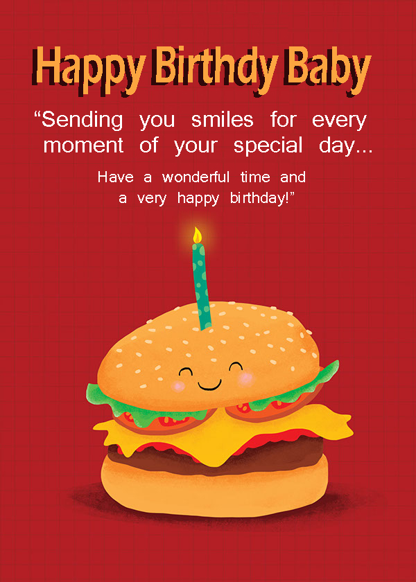 Happy Birthday Baby Message - Happy Birthday Wishes, Memes, SMS & Greeting eCard Images