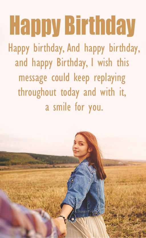 Happy Birthday Girlfriend Love - Happy Birthday Wishes, Memes, SMS & Greeting eCard Images