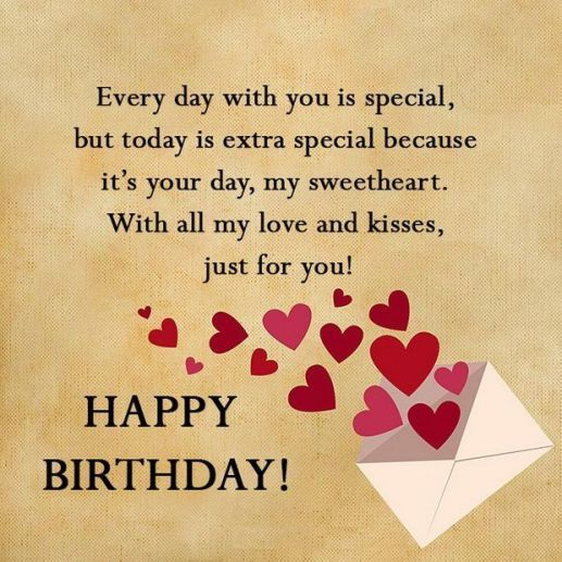 Happy Birthday Love Messages - Happy Birthday Wishes, Memes, SMS & Greeting eCard Images