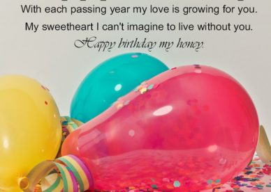 Happy Birthday My Girlfriend Honey - Happy Birthday Wishes, Memes, SMS & Greeting eCard Images
