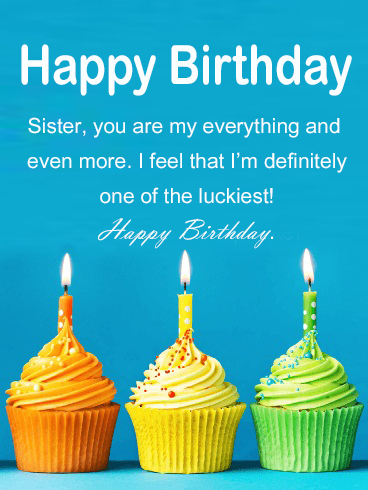 Happy Birthday Sister Images HD - Happy Birthday Wishes, Memes, SMS & Greeting eCard Images