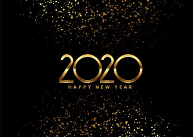 Golden Happy New Year 2020 - Happy Birthday Wishes, Memes, SMS & Greeting eCard Images