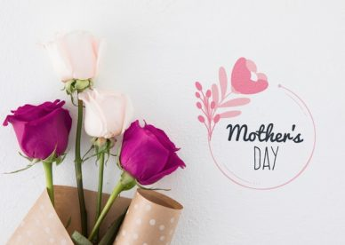Mother's Day White & Red Flowers Images - Happy Birthday Wishes, Memes, SMS & Greeting eCard Images