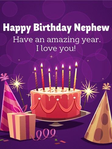 Birthday Cards For Nephew - Happy Birthday Wishes, Memes, SMS & Greeting eCard Images