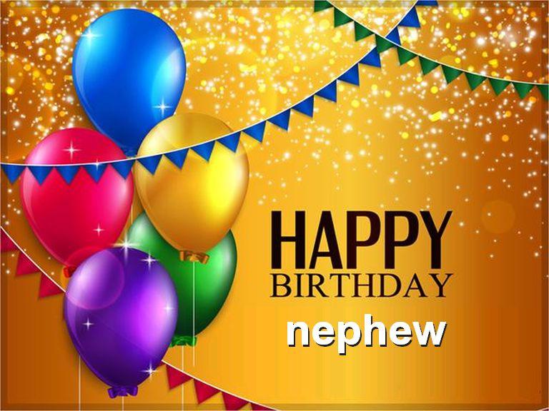 Happy Birthday Nephew Images For