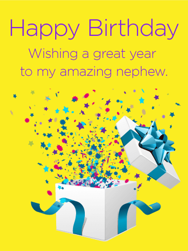Happy Birthday Wishes For Nephew In English - Happy Birthday Wishes, Memes, SMS & Greeting eCard Images