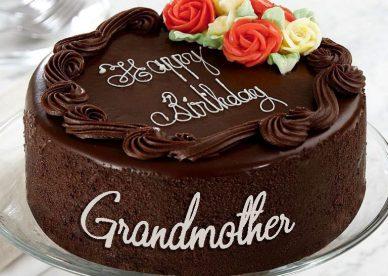 Happy Birthday Grandma Cakes - Happy Birthday Wishes, Memes, SMS & Greeting eCard Images