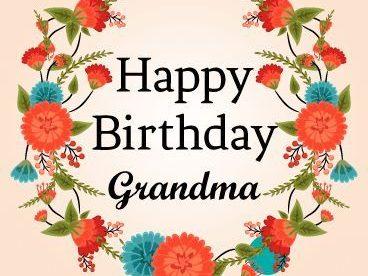 Happy Birthday Grandma Wishes - Happy Birthday Wishes, Memes, SMS & Greeting eCard Images