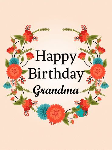 Happy Birthday Grandma Wishes - Happy Birthday Wishes, Memes, SMS & Greeting eCard Images