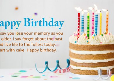 Birthday Cake Images With Quotes - Happy Birthday Wishes, Memes, SMS & Greeting eCard Images