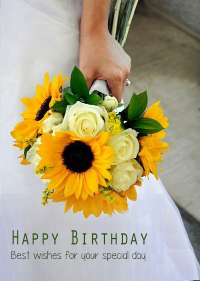 Download Happy Birthday Flower Images - Happy Birthday Wishes, Memes, SMS & Greeting eCard Images