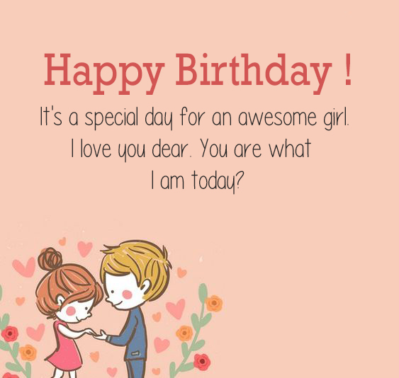 Girlfriend Happy Birthday Wishes Download - Happy Birthday Wishes, Memes, SMS & Greeting eCard Images