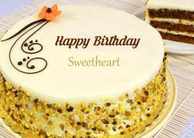 Happy Birthday Cake Sweetheart - Happy Birthday Wishes, Memes, SMS & Greeting eCard Images