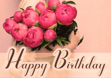 Happy Birthday Flower Images - https://wishes4birthday.com