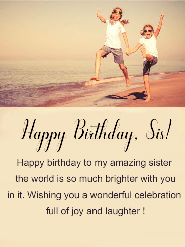 Happy Birthday Sister Images - Happy Birthday Wishes, Memes, SMS & Greeting eCard Images