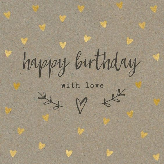 Happy Birthday With Love - Happy Birthday Wishes, Memes, SMS & Greeting eCard Images