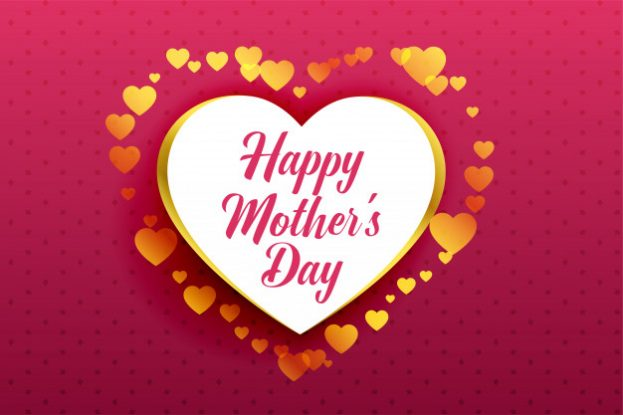 Happy Mother's Cute Hearts Wallpaper - Happy Birthday Wishes, Memes, SMS & Greeting eCard Images