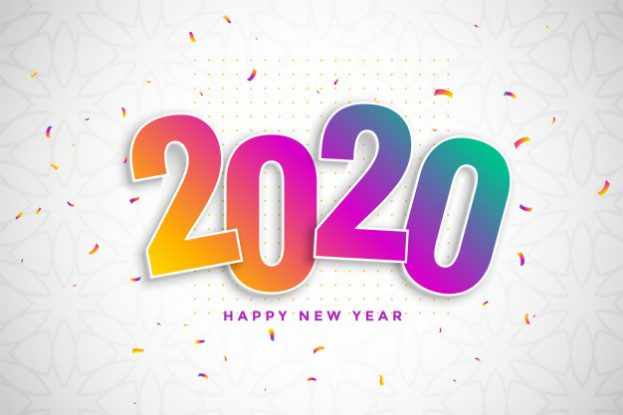 Happy New Year colorful Background HD - Happy Birthday Wishes, Memes, SMS & Greeting eCard Images
