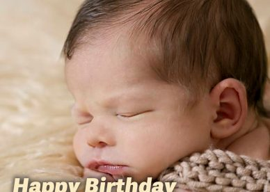 Awesome Birthday wishes for first baby - Happy Birthday Wishes, Memes, SMS & Greeting eCard Images