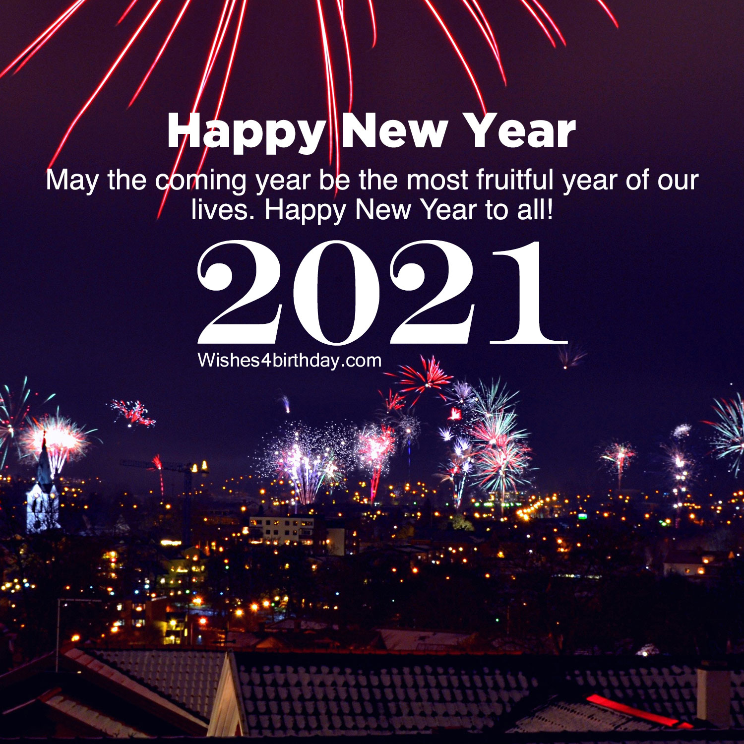 Happy new year images for an amazing 2021 - Happy Birthday Wishes, Memes, SMS & Greeting eCard ...
