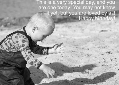 Most shares of Birthday wishes for first baby - Happy Birthday Wishes, Memes, SMS & Greeting eCard Images