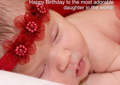 Simple Birthday wishes for first baby - Happy Birthday Wishes, Memes, SMS & Greeting eCard Images