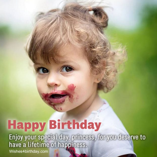 Spread and share Cute and lovely Birthday wishes for first baby - Happy Birthday Wishes, Memes, SMS & Greeting eCard Images