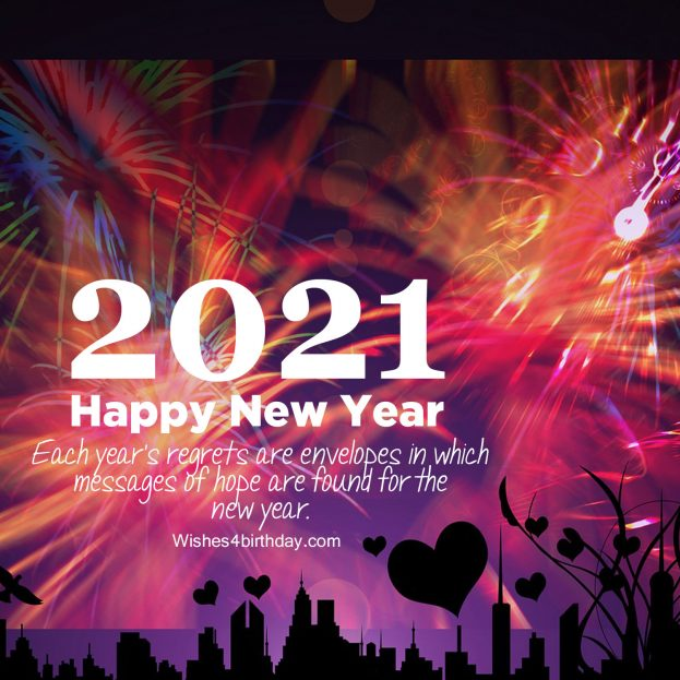 Top ten Happy new year 2021 glimpses with countdown - Happy Birthday Wishes, Memes, SMS & Greeting eCard Images