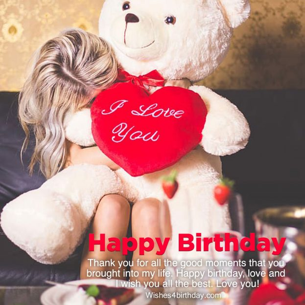 Collection of girlfriend happy birthday images - Happy Birthday Wishes, Memes, SMS & Greeting eCard Images